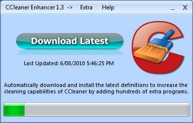 CCEnhancer v4.4.2.1 (CCleaner 청소 프로그램 추가)