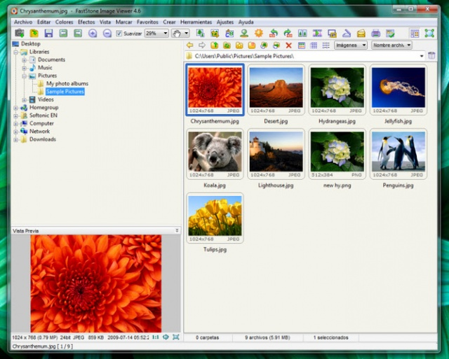 FastStone Image Viewer v6.4 Portable (한글지원)