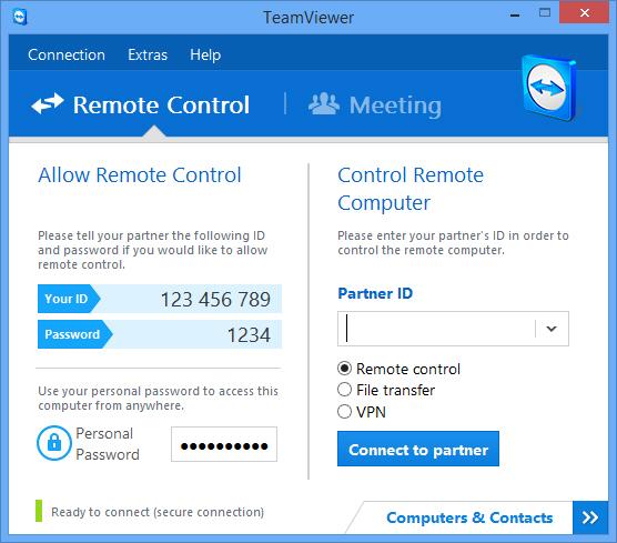 한글 TeamViewer Portable 버전 v12.0.88438 (무료 데스크탑 원격 제어)