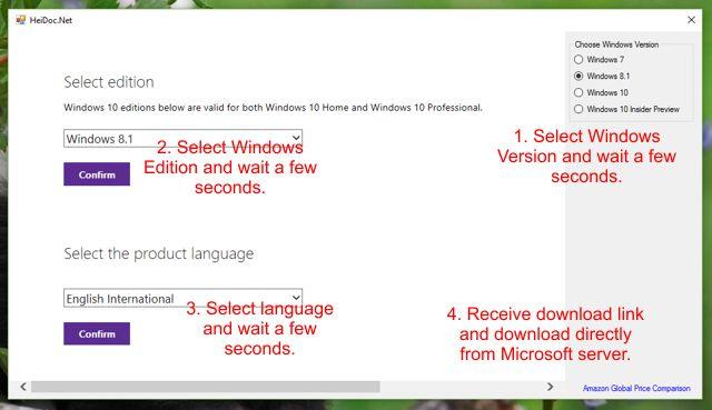 Microsoft Windows/Office ISO Download Tool v6.01 (윈도우/오피스 ISO 다운로드)