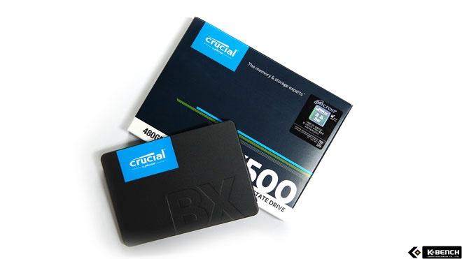 기본 SSD 500GB 시대에 앞장선 제품, 마이크론 Crucial BX500
