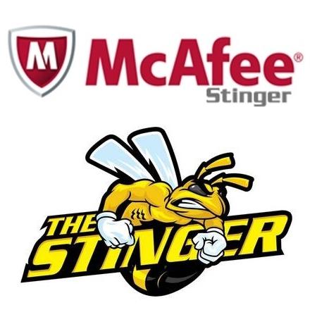 McAfee Stinger & Raptor v12.1.0.2807 32bit (독립 실행형 바이러스 삭제툴)