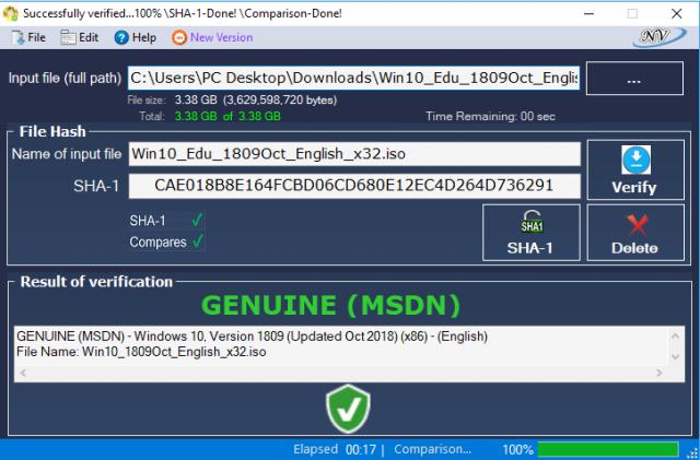 Windows and Office Genuine ISO Verifier v8.8.9.11 (윈도우/오피스 ISO 파일 검증 툴)