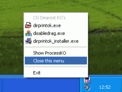 ProcessKO v4.72 32비트 (실행중인 프로세스 종료)