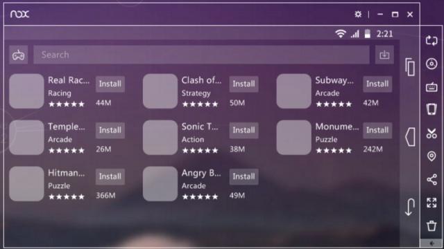 녹스 앱플레이어(Nox App Player) v6.5.0.1 (PC에서 안드로이드 게임/앱 구동)