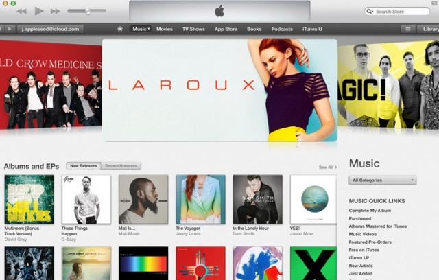 애플 iTunes(아이튠즈) v12.10.7 (32bit)