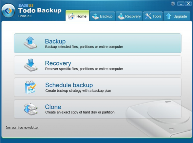 EASEUS Todo Backup Free Edition v12.8.0.0 (무료 시스템 백업/복구)