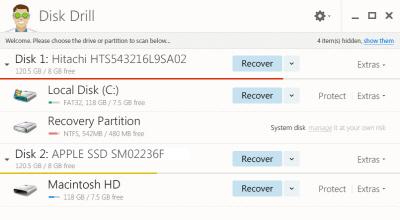 Disk Drill v4.2.567 (삭제된 데이터 복구)