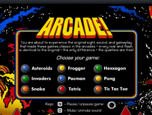 Arcade Classic Arcade Pack v5.10 (고전 아케이드 게임 9종)